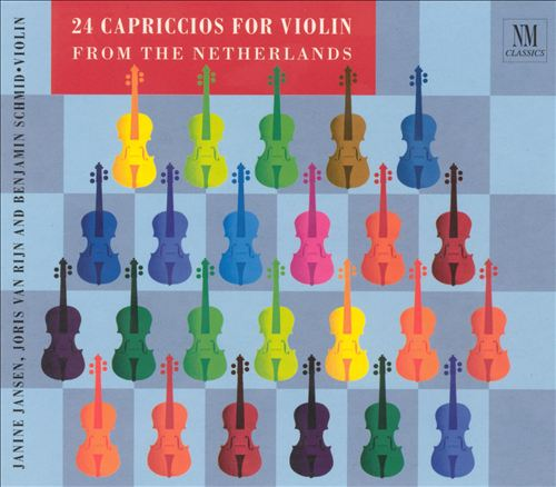 24 Capriccios for Violin from the Netherlands