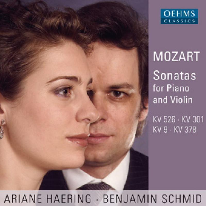 Mozart Sonatas for Piano and Violin