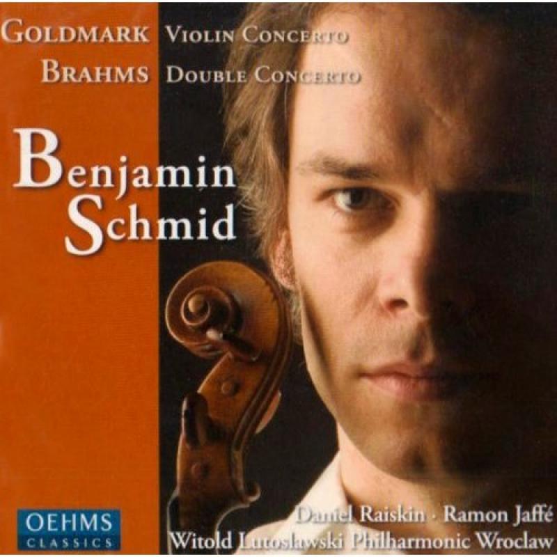 Goldmark Violin Concerto/Brahms Double Concerto