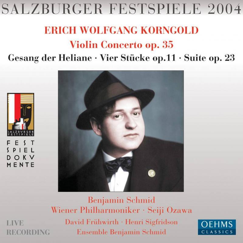 Korngold: Violin Concerto Op.35