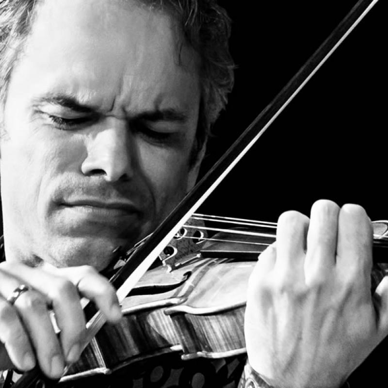 Benjamin Schmid Porträt mit Violine