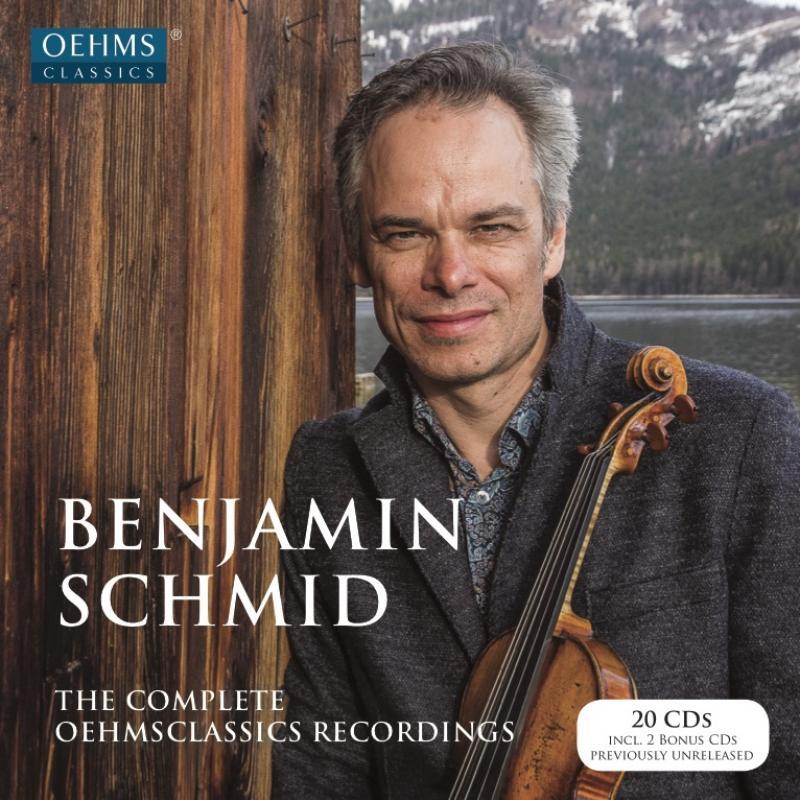 All OehmsClassics Recordings by Benjamin Schmid